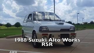 1988 Suzuki Alto Works Rsr