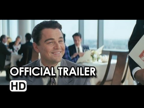 The Wolf of Wall Street Official Trailer #1 - Leonardo DiCaprio