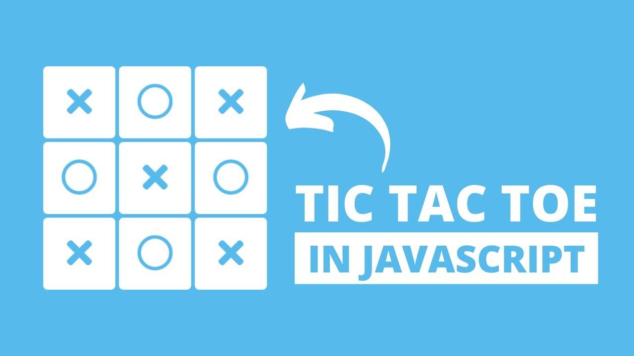 Tic Tac Toe Game using HTML CSS & JavaScript
