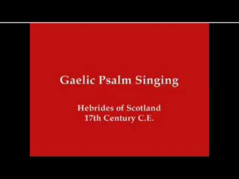 lined hymn psalm singing.mp4