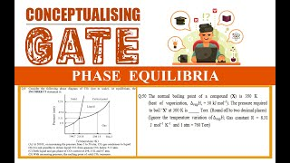 CONCEPTUALISING GATE: Phase Equilibria | GATE 2019