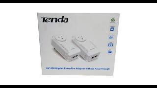 Tech Review - TENDA AV1000 Gigabit Powerline Adapter Kit Review