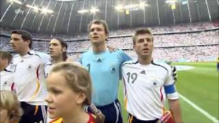 Anthem of Germany v Costa Rica FIFA World Cup 2006