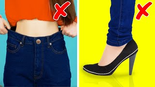 30 LIFE HACKS FOR CLOTHES YOU WEAR WRONG