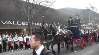 GVP horse drawn casket