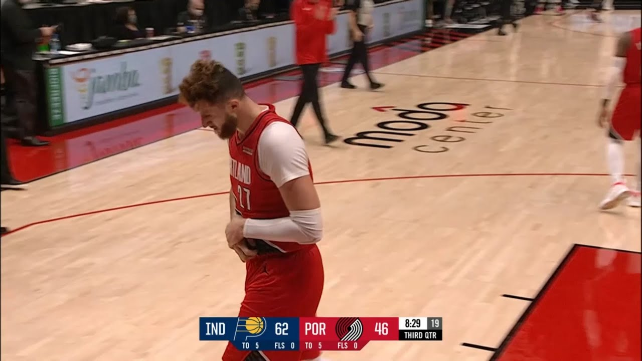 Jusuf Nurkic has suffered a broken right wrist