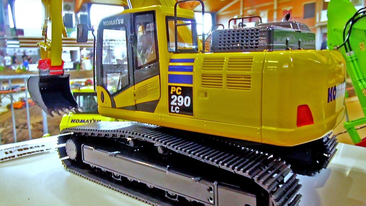 New Fumotec Komatsu Pc 290 Lc Mini Baustelle Alsfeld