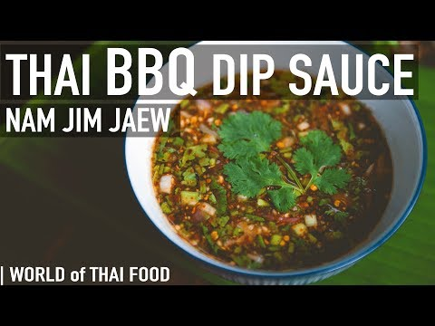 How To Make Jim Jaew – Spicy Thai BBQ Dipping Sauce | Condiment & Sauce Guide #3