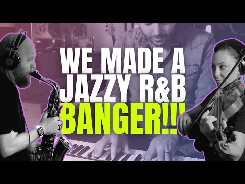 Making a Jazzy R&B Song with WORLD CLASS Musicians + Native Instruments Plug-ins