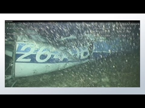 Emiliano Sala underwater plane footage shows body (now confirmed as Sala) in the wreckage