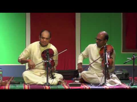 Carnatic Instrument L Violin Viola Duet L Global Heritage Music Fest 2016 L Web Streaming