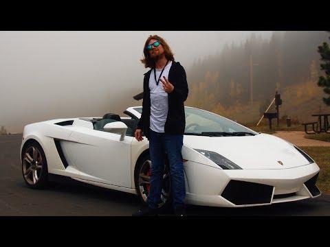 Mit einem Lamborghini durch die Rocky Mountains 🌎 Denver (USA)