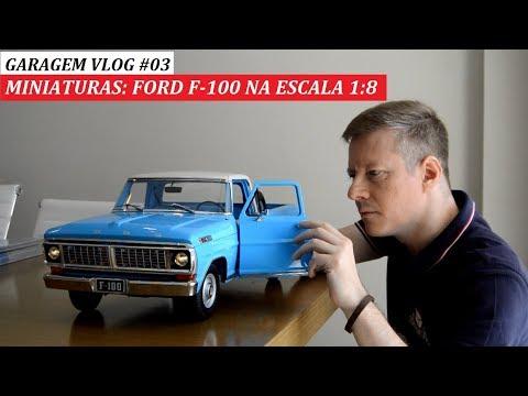 GARAGEM VLOG #03: FORD F-100 NA ESCALA 1:8 DA EDITORA SALVAT EM DETALHES