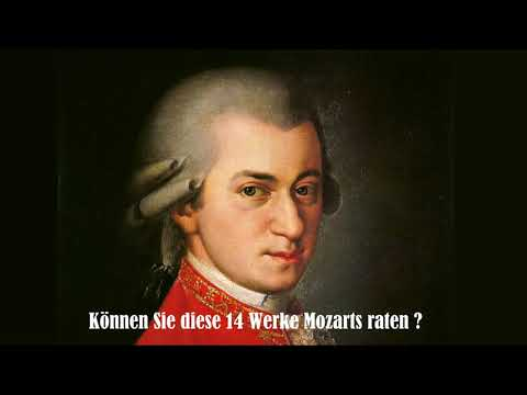 Mozart Challenge (the very best of mozart - 14 pieces to guess)