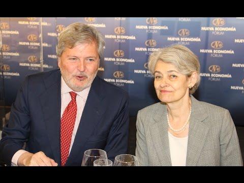 Foro de la Nueva Economía con Irina Bokova
