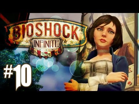 Bioshock Infinite Gameplay Walkthrough - Part 10 - The Bucking Bronco Effect (Xbox 360/PS3/PC HD)