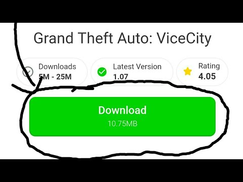 GTA Vice City Download Only 10 Mb