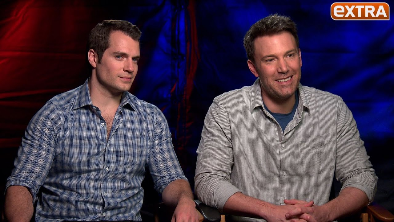 Ben Affleck & Henry Cavill on 'Batman v Superman,' Ben ...