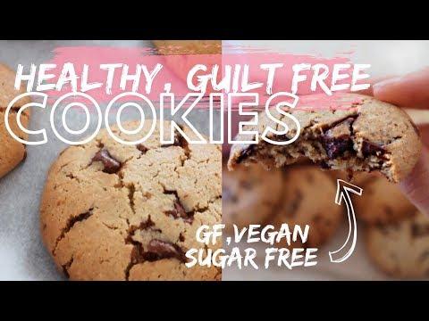 HEALTHY CHOC CHIP COOKIES | Vegan, Gluten & Sugar Free! FITMAS DAY #5