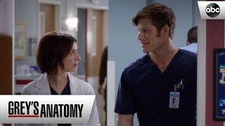Linc and Amelia Agree To Avoid Each Other - Grey's Anatomy Season 15 Episode 18