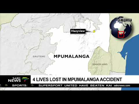 A multi-vehicle crash claims 4 lives in Hazyview, Mpumalanga