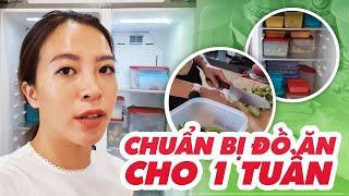 Chuẩn bị đồ ăn cho 1 tuần | Nutrition ♡ Hana Giang Anh