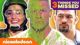 WWE's Top Takedowns 🤪 Ft. John Cena, Double Dare & More! | #3ThingsYouMissed