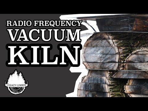 Radio Frequency Vacuum Kiln