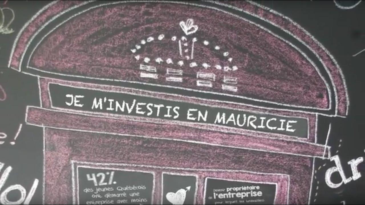 Je m'investis en Mauricie !