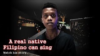 A Real Native Filipino Can Sing - His Idol Was Justin Bieber( mariano )- Listen to his Music