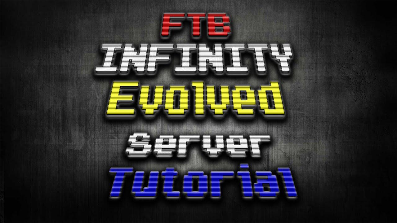 How to install a infinity evolved server FTB 1 7 10
