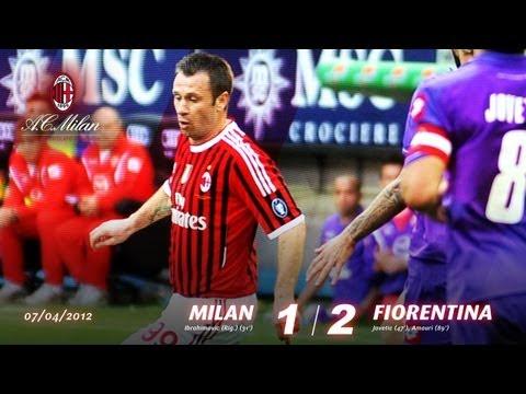 Milan-Fiorentina 1-2