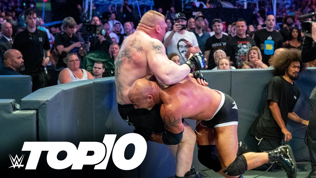 Download Goldberg's most devastating Spears: WWE Top 10, Aug. 19, 2021