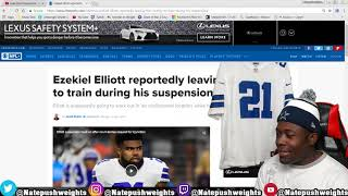 EZEKIEL ELLIOTT LEAVES THE UNITED STATES AFTER SUSPENSION ?!