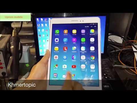 #40 Flash firmware Samsung Galaxy Tap A P555/Khmertopic