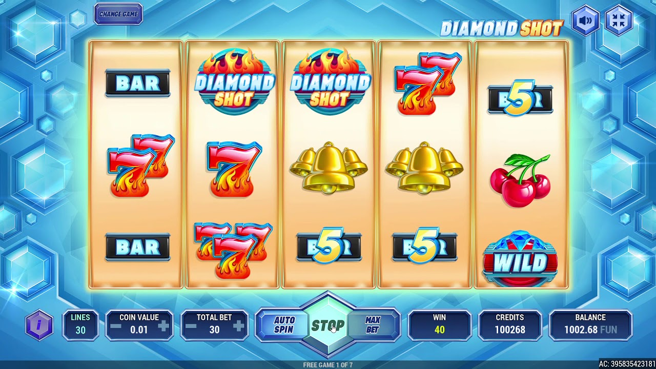 New Game! Diamond Shot (RiverSweeps Sweepstakes game)