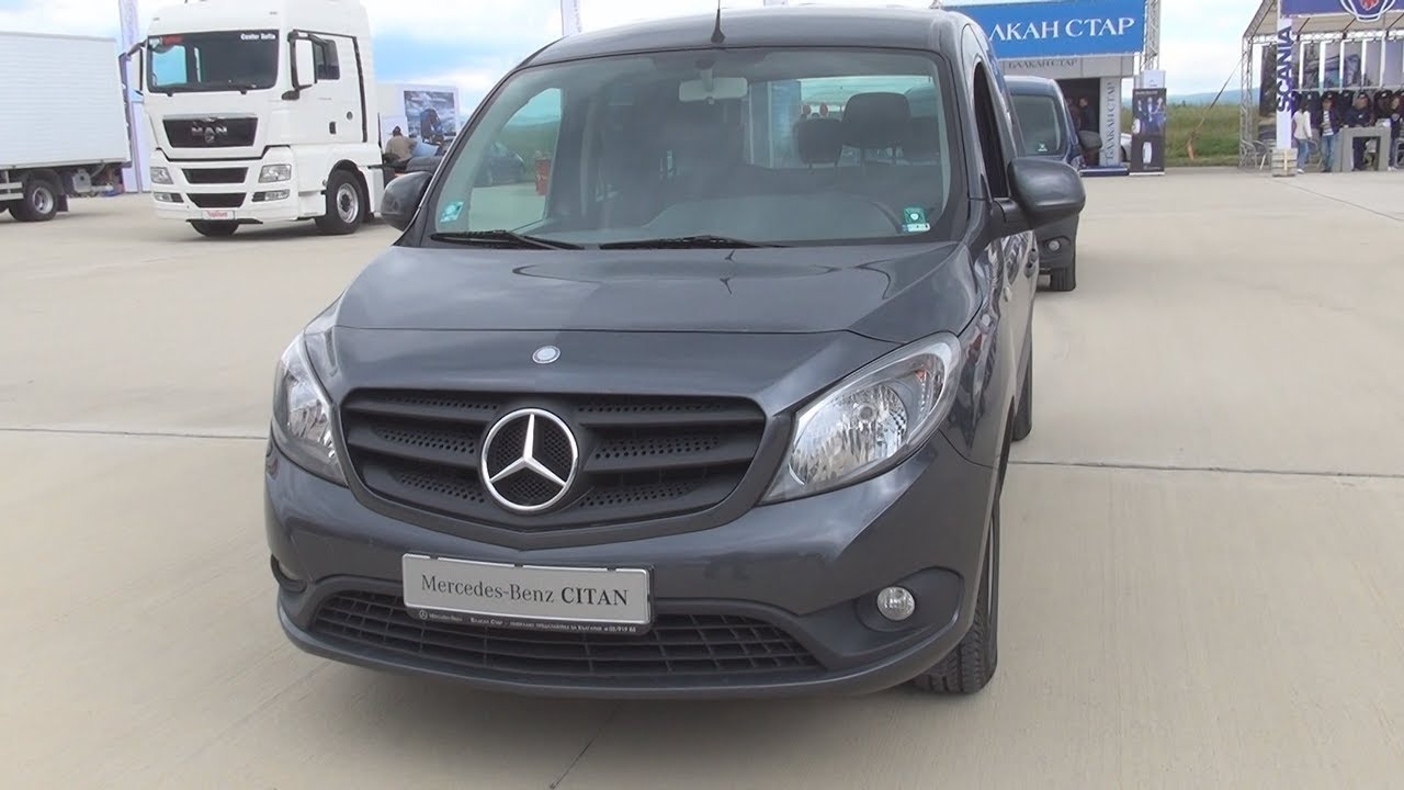 Mercedes Benz Citan 109 Cdi Traveliner Long Exterior And Interior Youtube