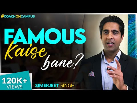 How Can I Be Famous? | Keynote Speaker Simerjeet Singh on Fame and Success | Hindi | CC15