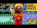 Midget Apple Plays - Mario Maker #2: DON'T EAT ME BRO!