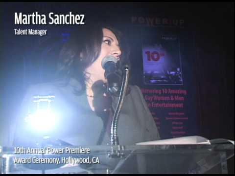 Martha Sanchez 2010 POWER UP Nominee