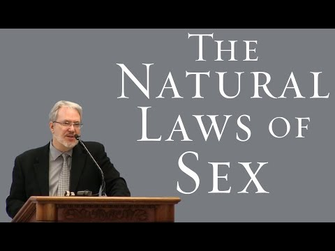 The Natural Laws of Sex - J. Budziszewski