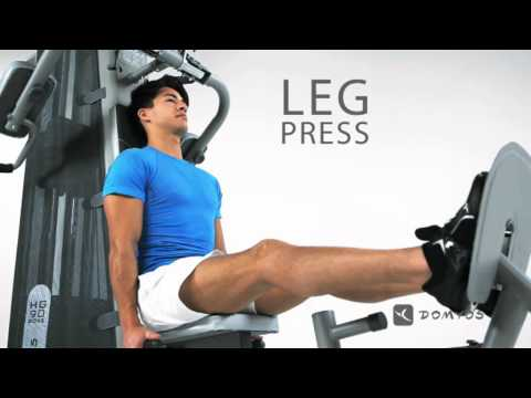 Domyos Hg 90 Multi Gym Youtube