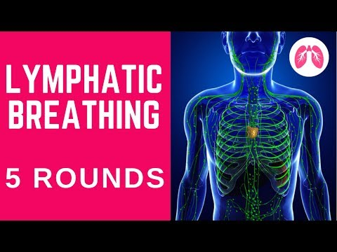 Deep Breathing For Lymphatic System - (5 Rounds) Inspired By Wim Hof Breathing Technique