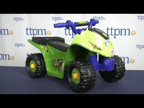 Power Wheels Teenage Mutant Ninja Turtles Lil' Quad From Fisher-Price