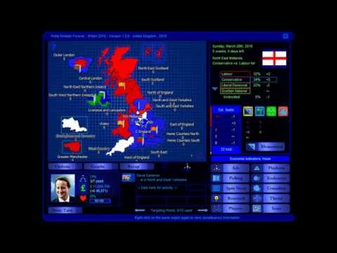 United Kingdom 2010 Election Game (Conservative)