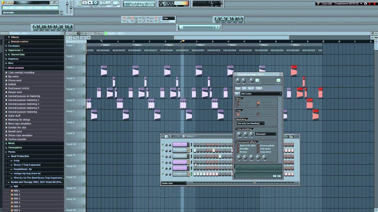 Tuto comment faire une instru trap quand on debute sur fl studio youtube - Comment couper une musique sur mac ...