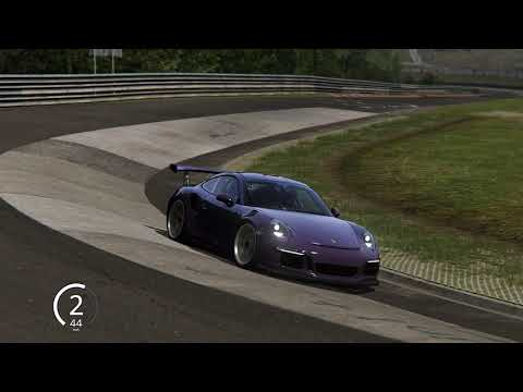 Assetto Corsa ,911 GT3RS, on the ring  