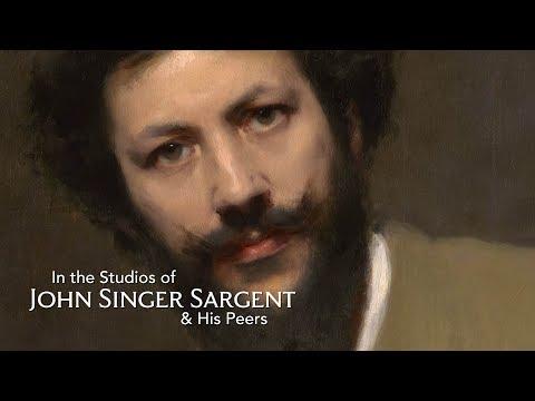 Toronto Workshop: In the Studios of John Singer Sargent & His Peers