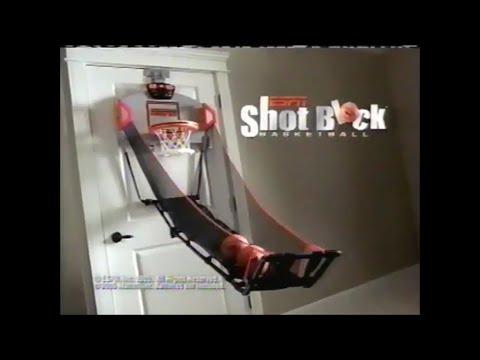 ESPN Shot Block Basketball Commercial (2005, USA)