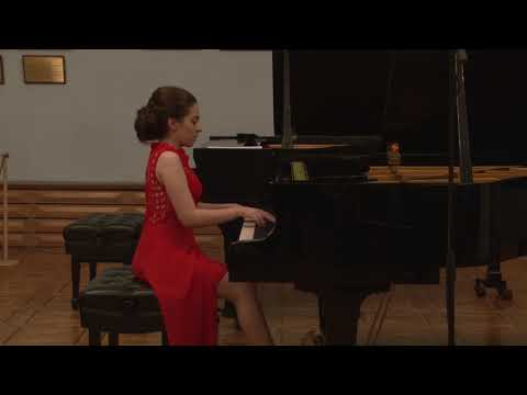 Laura Galstyan (14 Years Old) Plays Claude Debussy